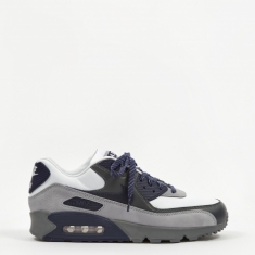 Nike Air Max 90 - White/Neutral/Indigo/Smoke Grey