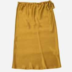 6397 Drawstring Skirt - Gold