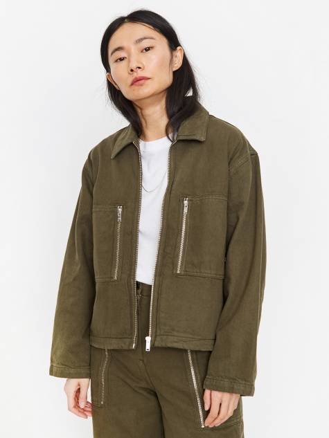Lydia Jacket - Dark Green