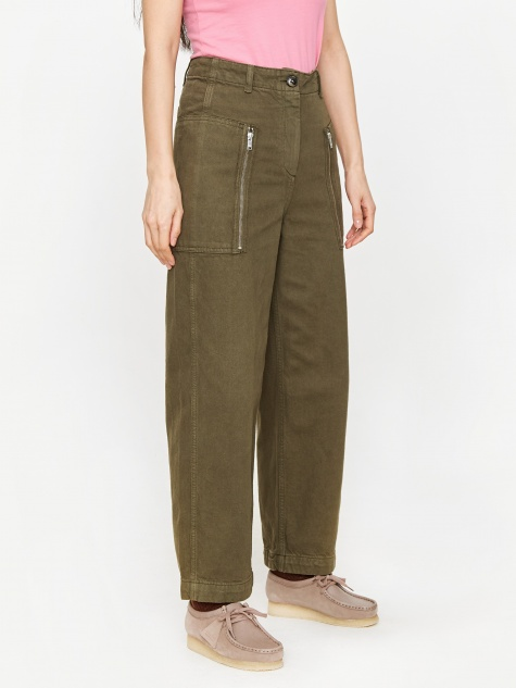 Billie Trouser - Dark Green