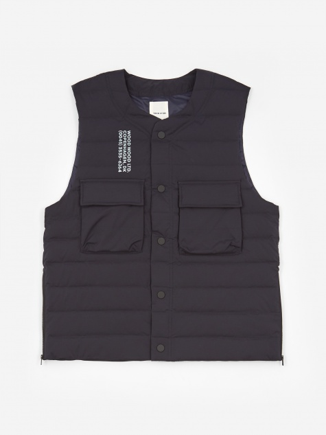 Kelvin Light Padded Vest - Navy