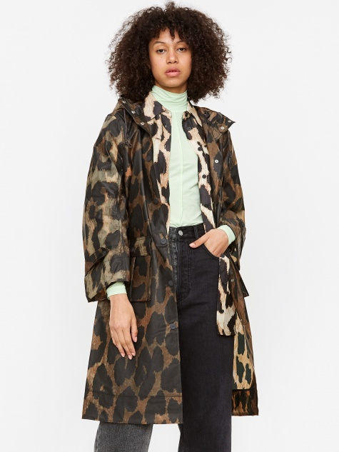 Thermoshell Rain Jacket - Maxi Leopard