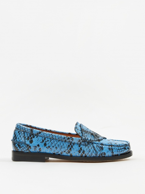 Mocassin Shoe - Brunnera Blue