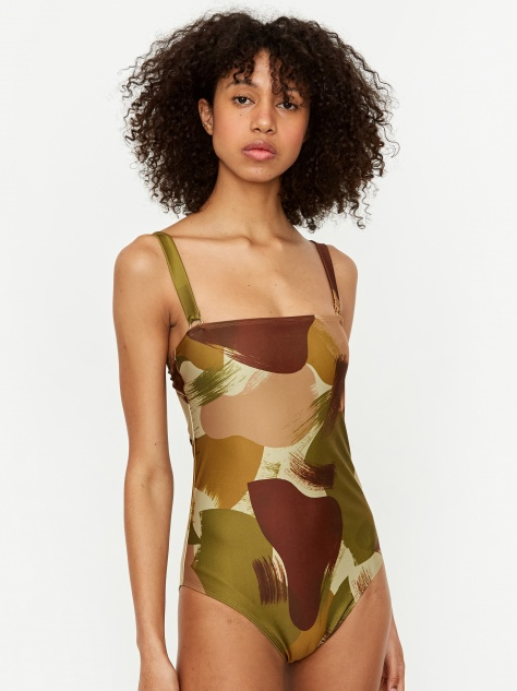 Recycled Swimsuit - Camo