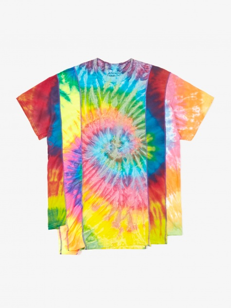 Rebuild 5 Cuts Tie-Dye T-Shirt - Assorted