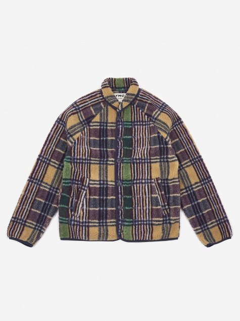 Beach Jacket - Multi Check