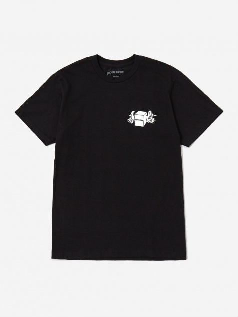 Box Wings Shortsleeve T-Shirt - Black