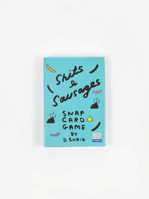David Shirley Sh*ts & Sausages Snap Card Game
