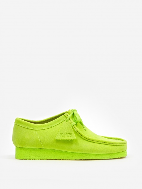 Clarks Wallabee - Lime Suede