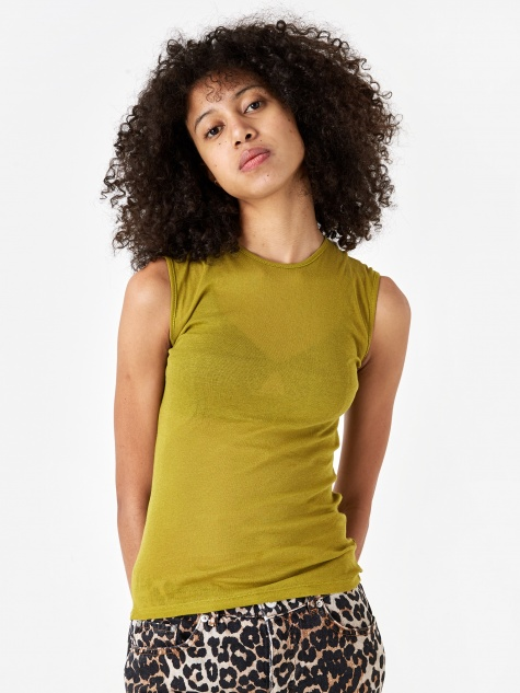 Puig Tank Top - Olive