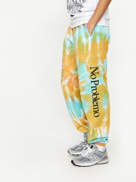 No Problemo Tie Dye Sweatpants - Multicolour