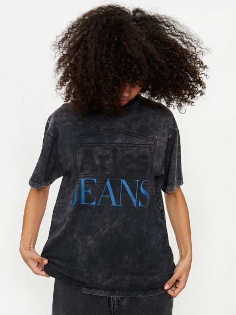Jeans Shortsleeve T-Shirt - Black