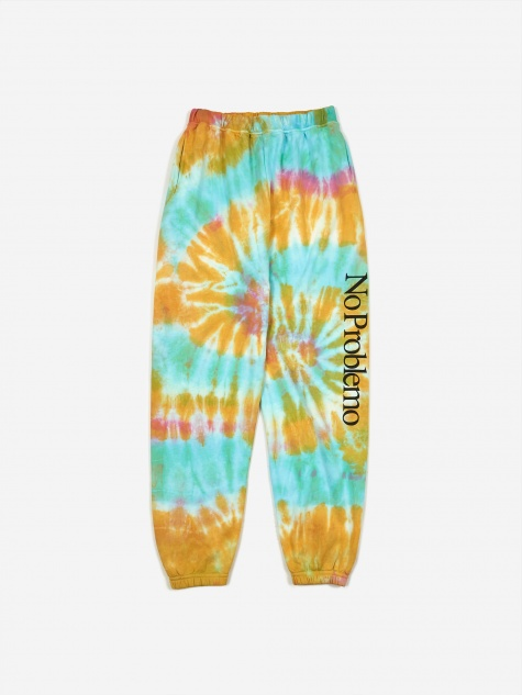 No Problemo Tie Dye Sweatpants - Multi