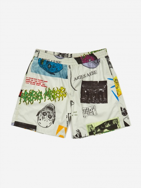 Thrasher Short - White