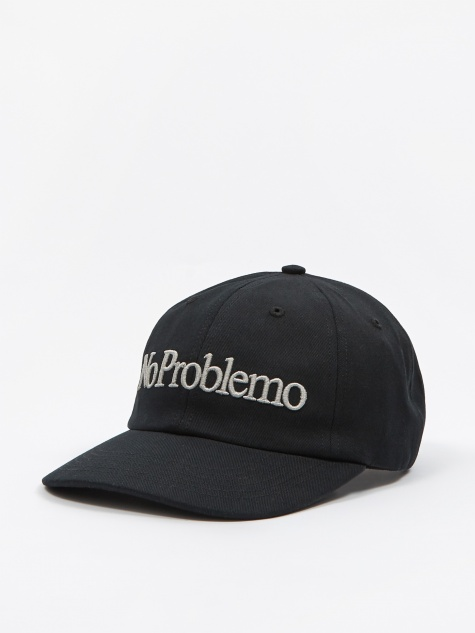 No Problemo Cap - Black