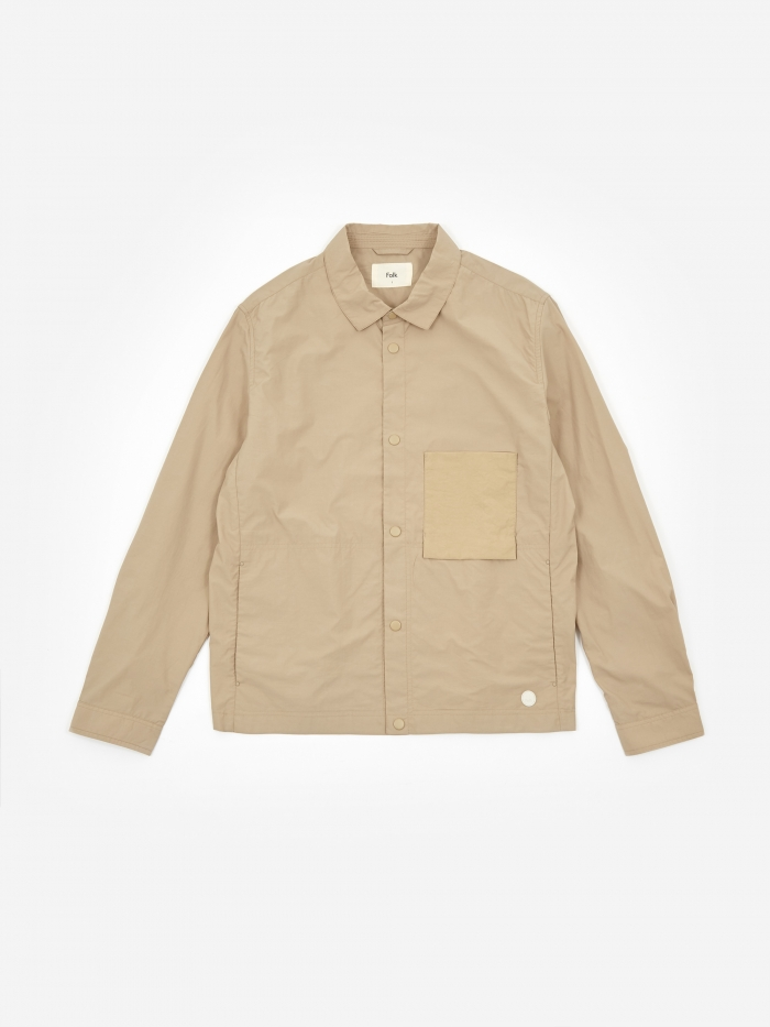 Folk Stack Jacket - Fog (Image 1)