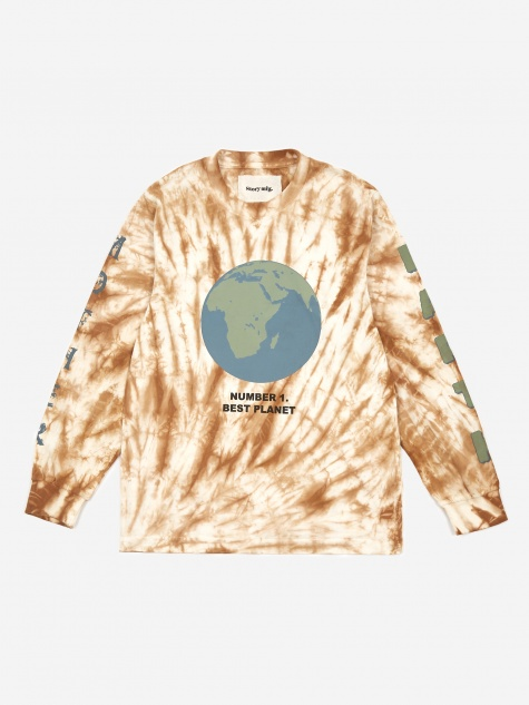 Grateful Longsleeve T-Shirt - Bark Ripple