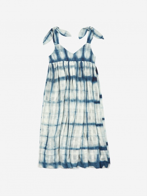 Daisy Dress - Sheer Indigo Moon Clamp
