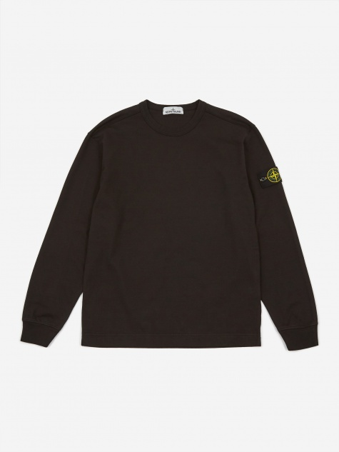 Heavy Cotton Jersey Sweatshirt - Black