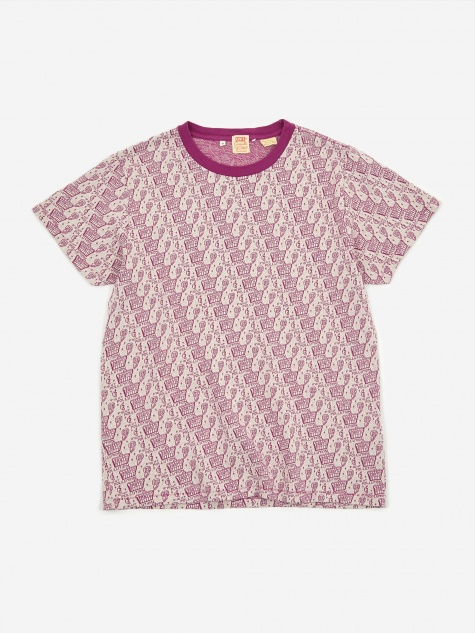 Levis Vintage Clothing Graphic T-shirt - Purple Multi