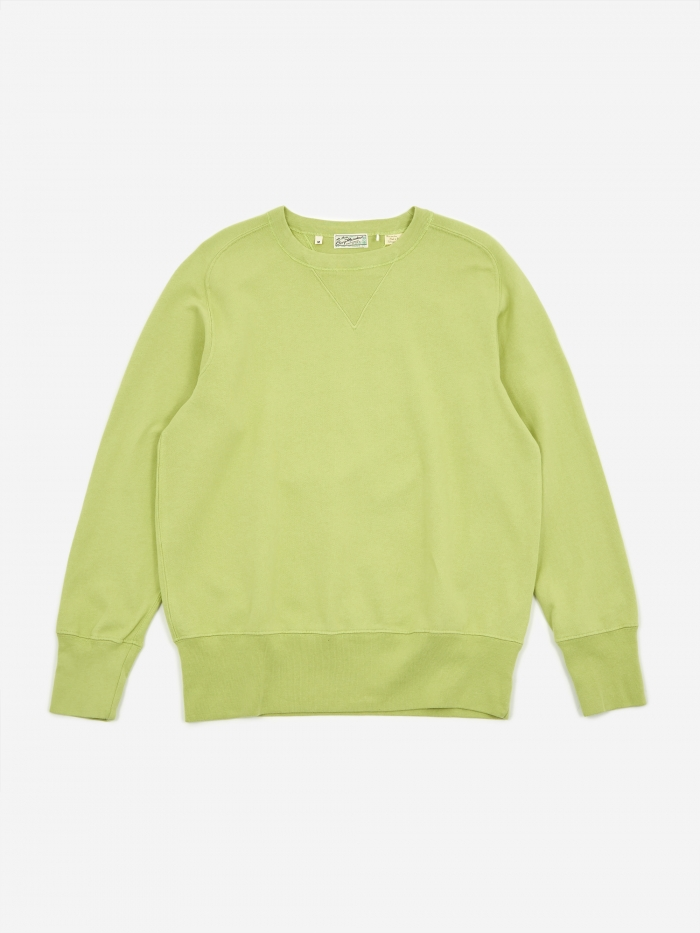 Levi's Vintage Clothing Levis Vintage Clothing Bay Meadows Sweatshirt - Apple Green (Image 1)