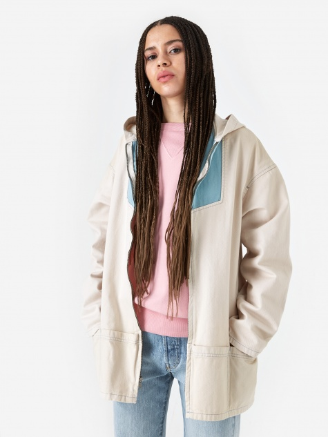 Levis Vintage Clothing 1960 Anorak Jacket - Cloud Cream