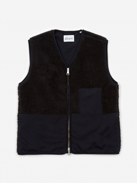 Snap In Liner Vest - Navy