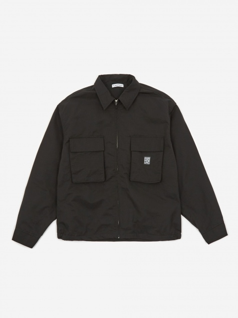 Ice Logo F/Z Jacket - Black