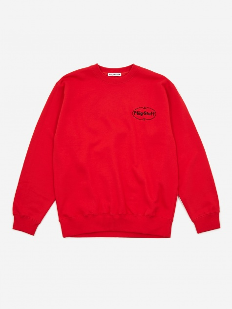 Ice Logo Sweatshirt - Red