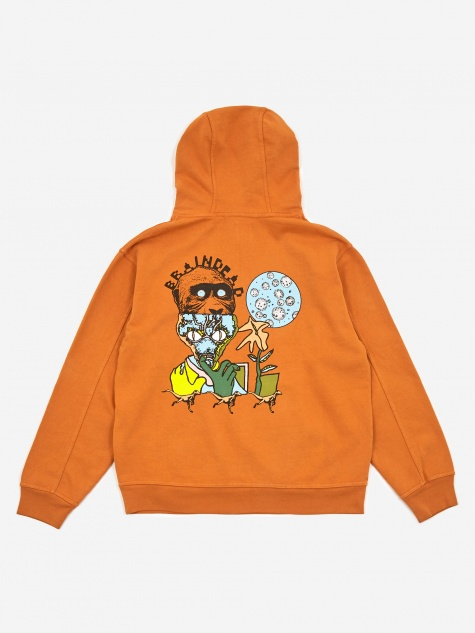New Flesh Hooded Sweatshirt - Orange