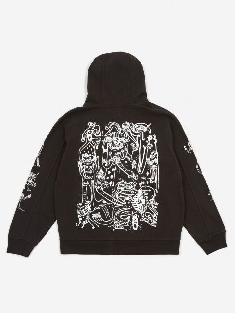 P&TY Hooded Sweatshirt - Black
