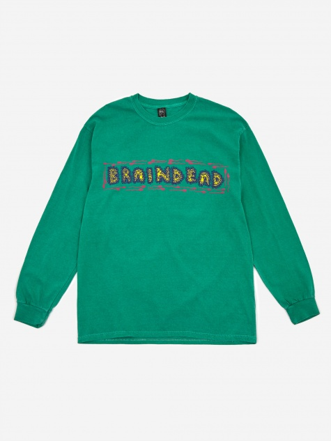 One Who Shouts Longsleeve T-Shirt - Green