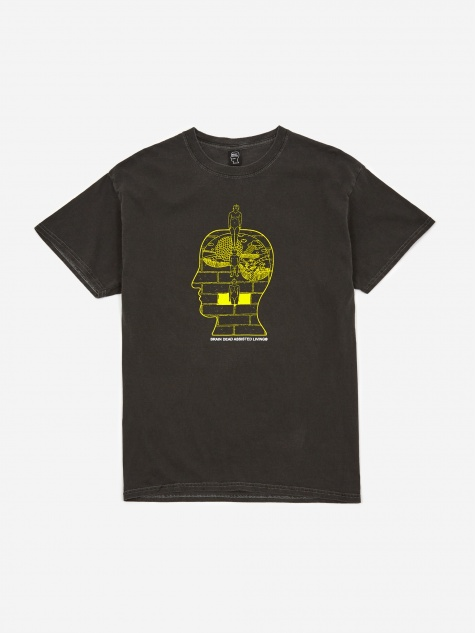 Syd Shortsleeve T-Shirt - Washed Black