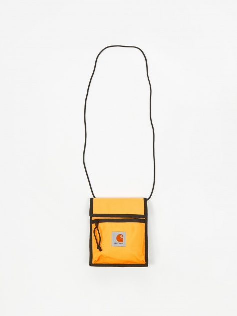 Delta Neck Pouch - Pop Orange