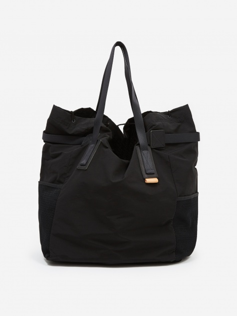 Functional Tote Bag - Black