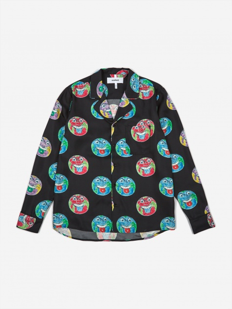 Richman Silk Longsleeve Shirt - Multi