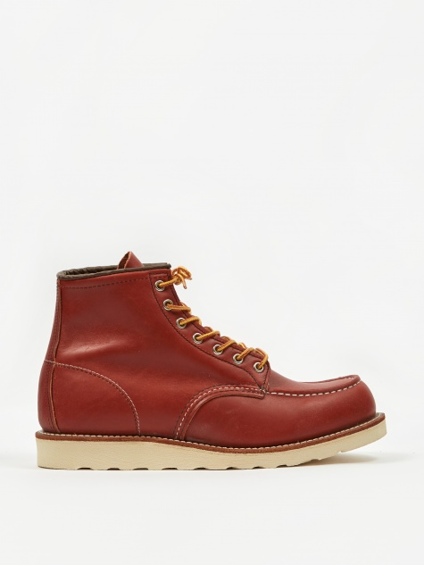 Red Wing 6 inch Classic Moc Toe Boot - Oro Russet