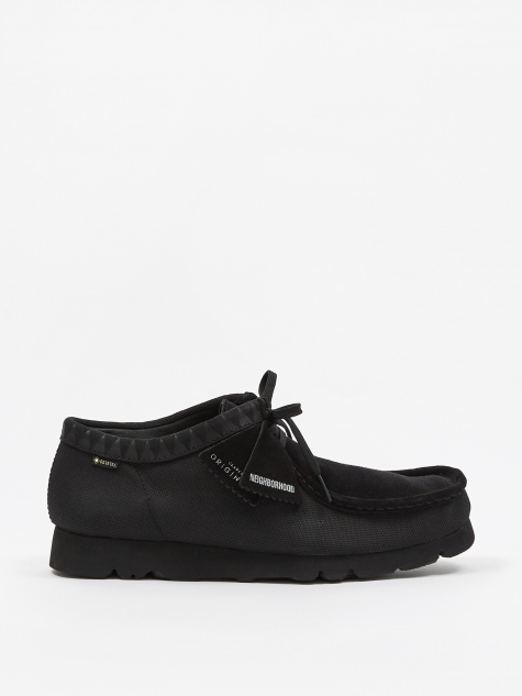 Clarks x Neighborhood Wallabee Gore-Tex - Black