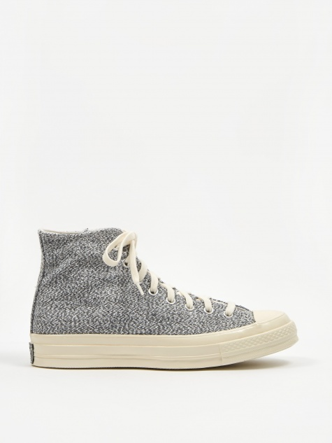 Chuck Taylor All Star 70 Recycled Canvas Hi - Black/Whi