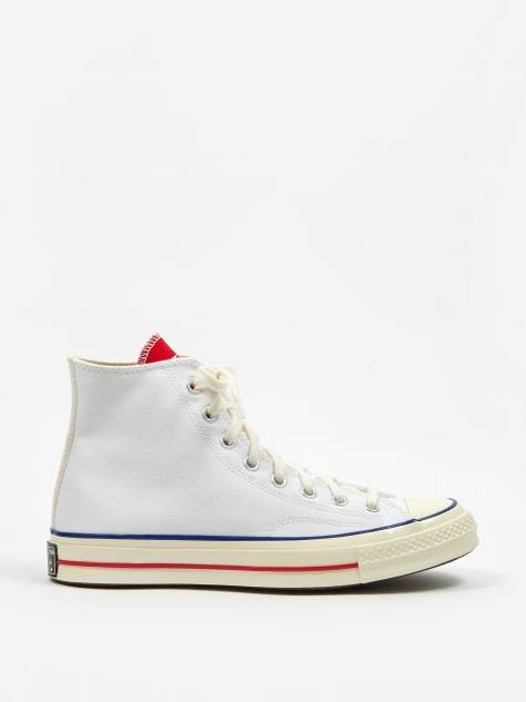 Chuck Taylor All Star 70 Twisted Tongue Hi - White/Red/