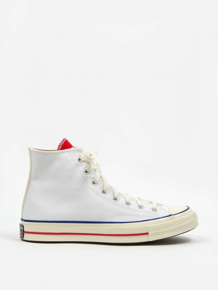 Converse Chuck Taylor All Star 70 Twisted Tongue Hi - White/Red/ (Image 1)