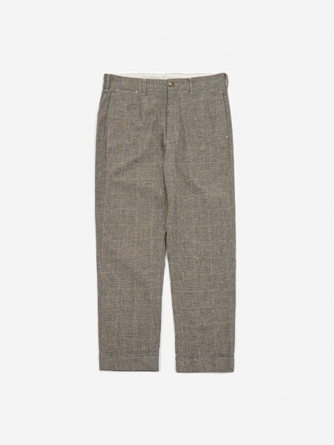 Andover Pant - Grey CL Glen Plaid