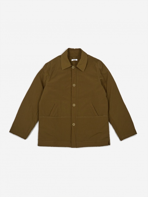 Tres Bien Pleasure Jacket Tech Twill - Army Green