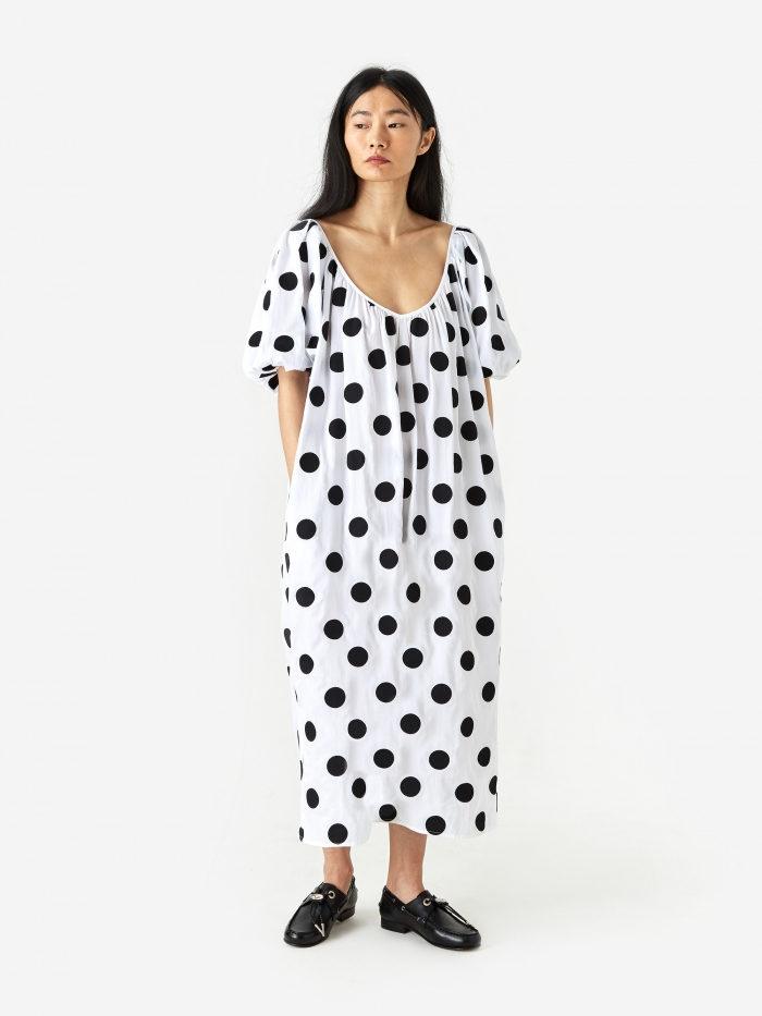 Mara Hoffman Romina Dress - Black/White (Image 1)