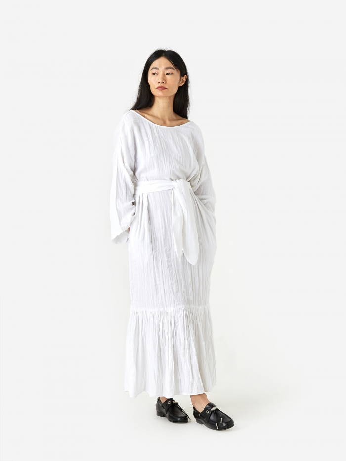 Mara Hoffman Augusta Dress - White (Image 1)