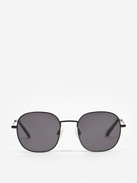 Helmut Sunglasses - Black/Transparent Grey