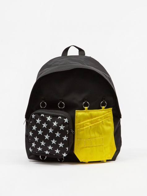 x Raf Simons Padded Doublr Backpack - White Star
