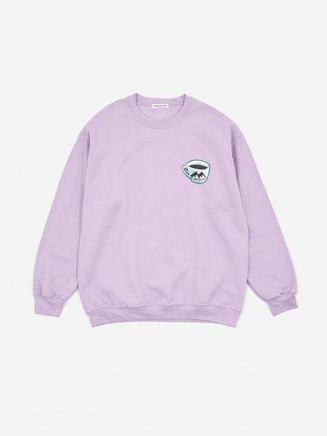 Pie Sweatshirt - Purple