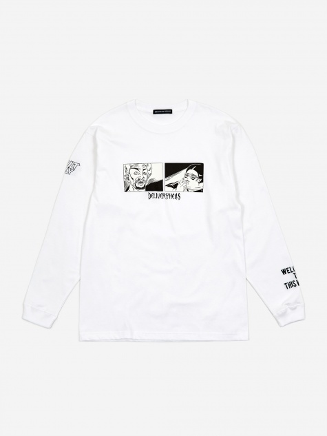 Adult Longsleeve T-Shirt - White
