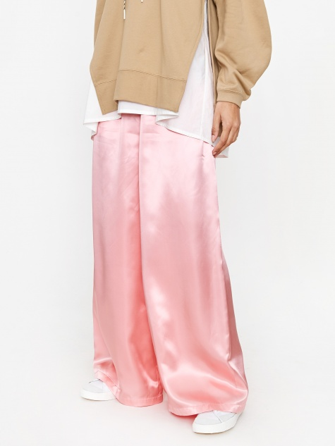Wide Leg Trouser - Rose